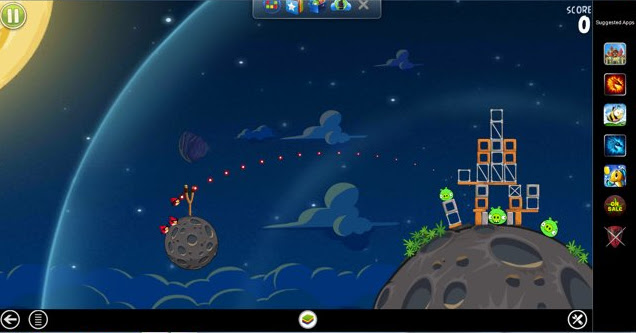 Angry Birds On BlueStacks