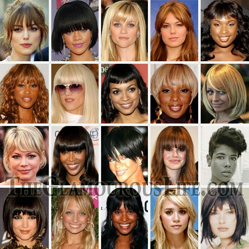 Trendy Hairstyles 2013 Bangs