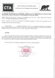 TRASLADAMOS AL COMITÉ DE EMPRESA LA RESPUESTA DEL CENTRO DE PREVENCIÓN DE RIESGOS LABORALES SOBRE L