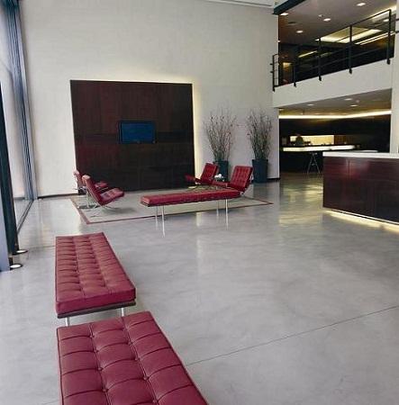 Ideas ecol gicas para renovar tus pisos hormig n o cemento pulido - Suelo de microcemento pulido ...