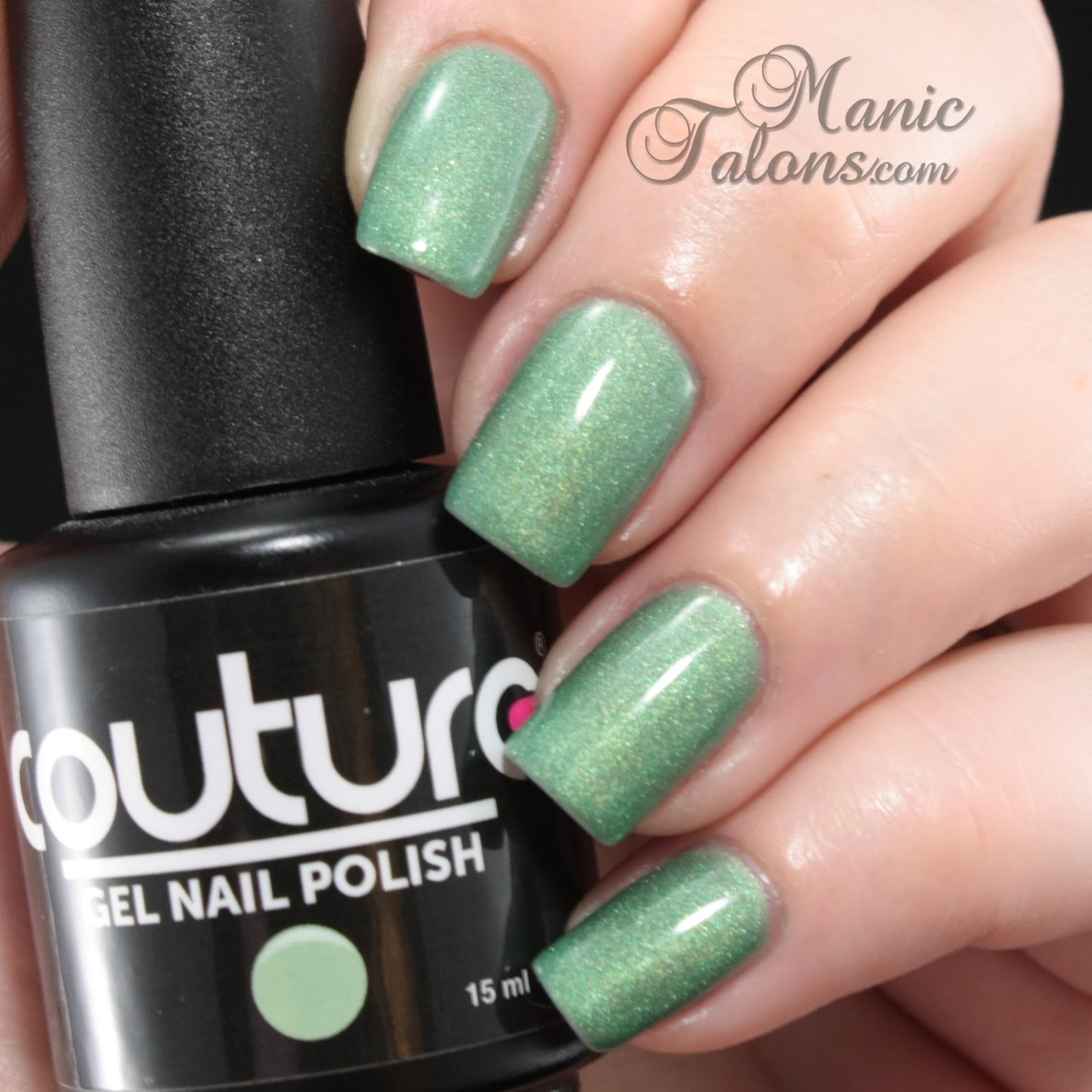 Couture Soak Off Gel Polish Aloe Very Swatch