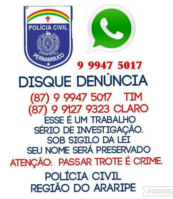 Polícia Civil Do Sertão De Pernambuco