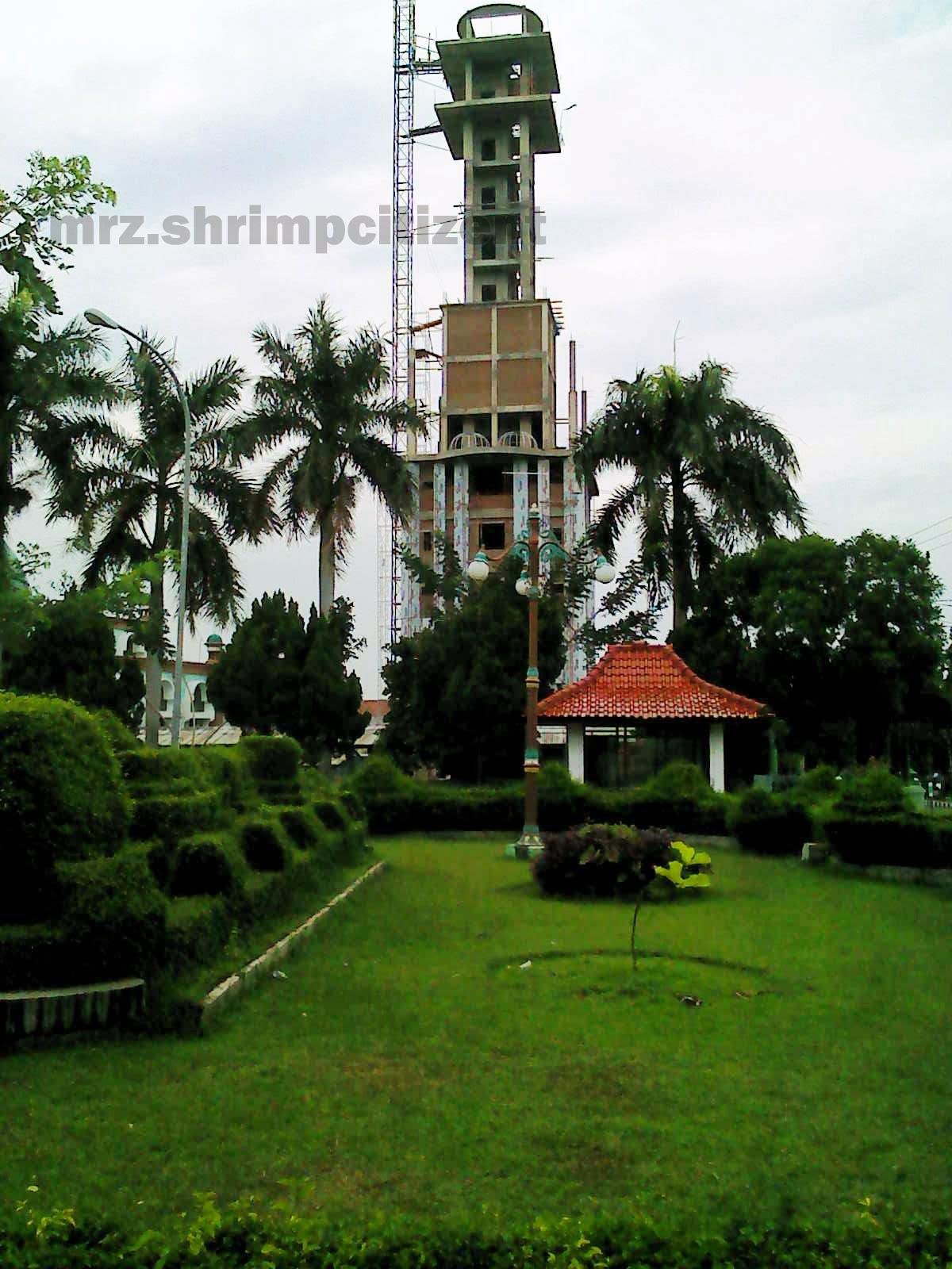 Pembangunan Menara Masjid Agung Sumber, Kab. Cirebon 2