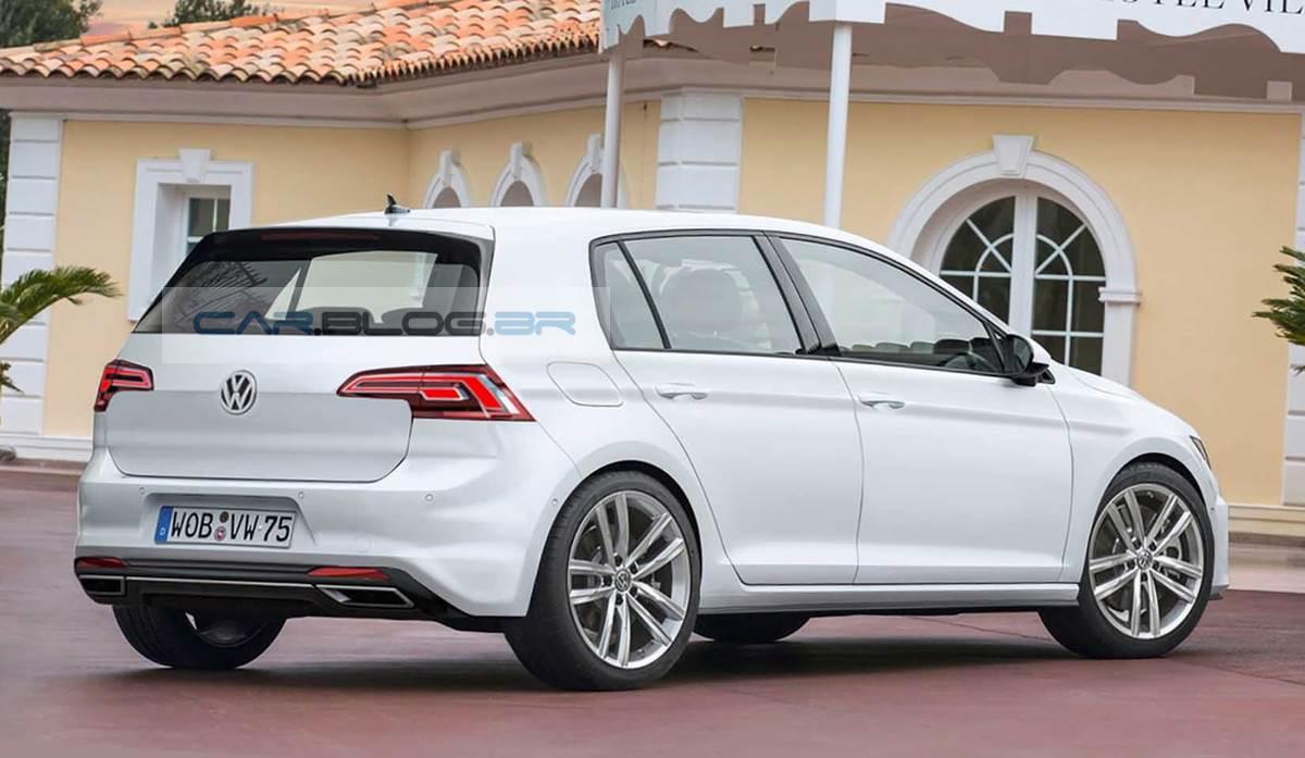 Golf Mark 8 Release Date >> Novo VW Golf 8 chega em 2017 com visual mais esportivo   CAR.BLOG.BR