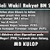 Pembangkang Usaha Beli Wakil Rakyat BN Sarawak