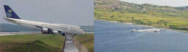 1)Поломанные события в авиации.