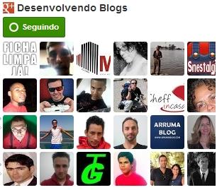 Seguidores do Google+