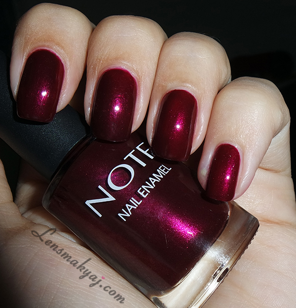 Note Cosmetics Fuchsia