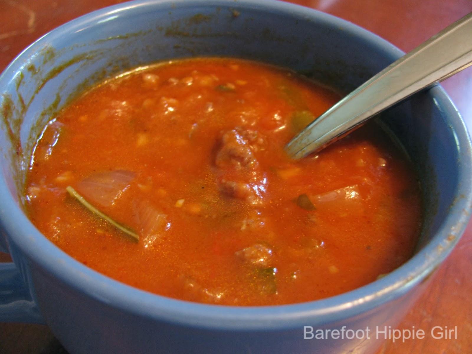 Chunky Tomato Soup Recipe — Dishmaps