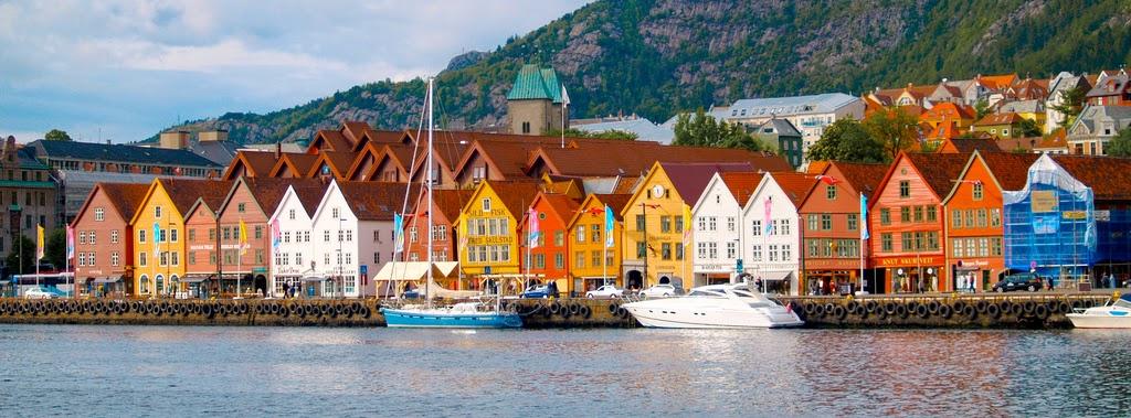 Brygge, Bergen in Norway © Erik Veland