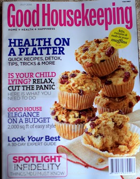 building up the health quotient everyday | being featured on cover story of Good Housekeeping India