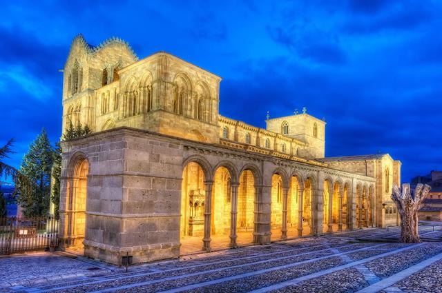 Испания.архитектура Испании,Базилика святого Винсента