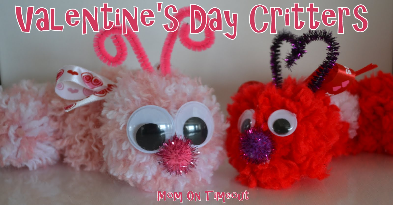 Valentine S Day Critters Kid S Craft Mom On Timeout