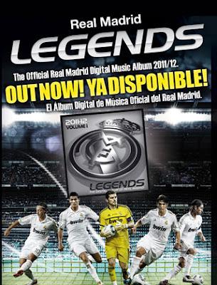 Real Madrid ya tiene su álbum de musica digital