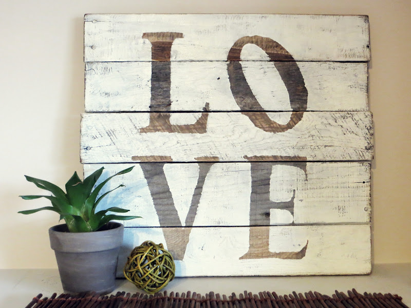 Wood Pallet Sign With Saying (5 Image)
