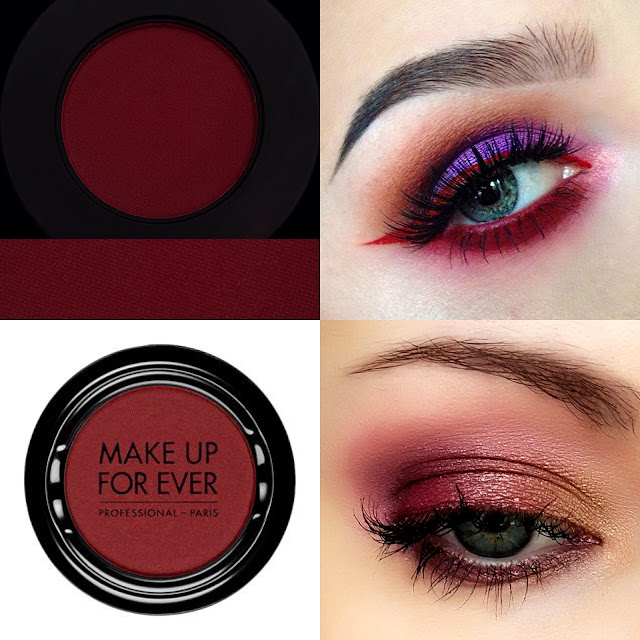 mat bordo göz farı burgundy eyeshadow