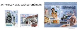 Hungary: 86TH STAMP DAY, SZÉKESFEHÉRVÁR