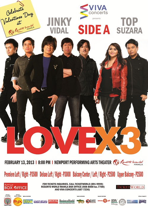 LOVE X3 Side A Jinky Vidal And Top Suzara Live