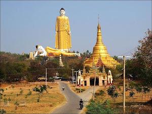 วัดโพธิตาต่อง เมืองโมนยวา ประเทศพม่า