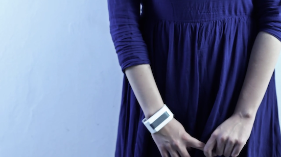 The Wireless Bracelet That Can Transmit Touch