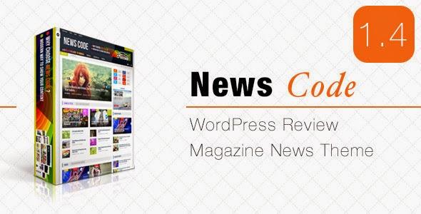 Newscode Review Magazine News - WordPress Themes