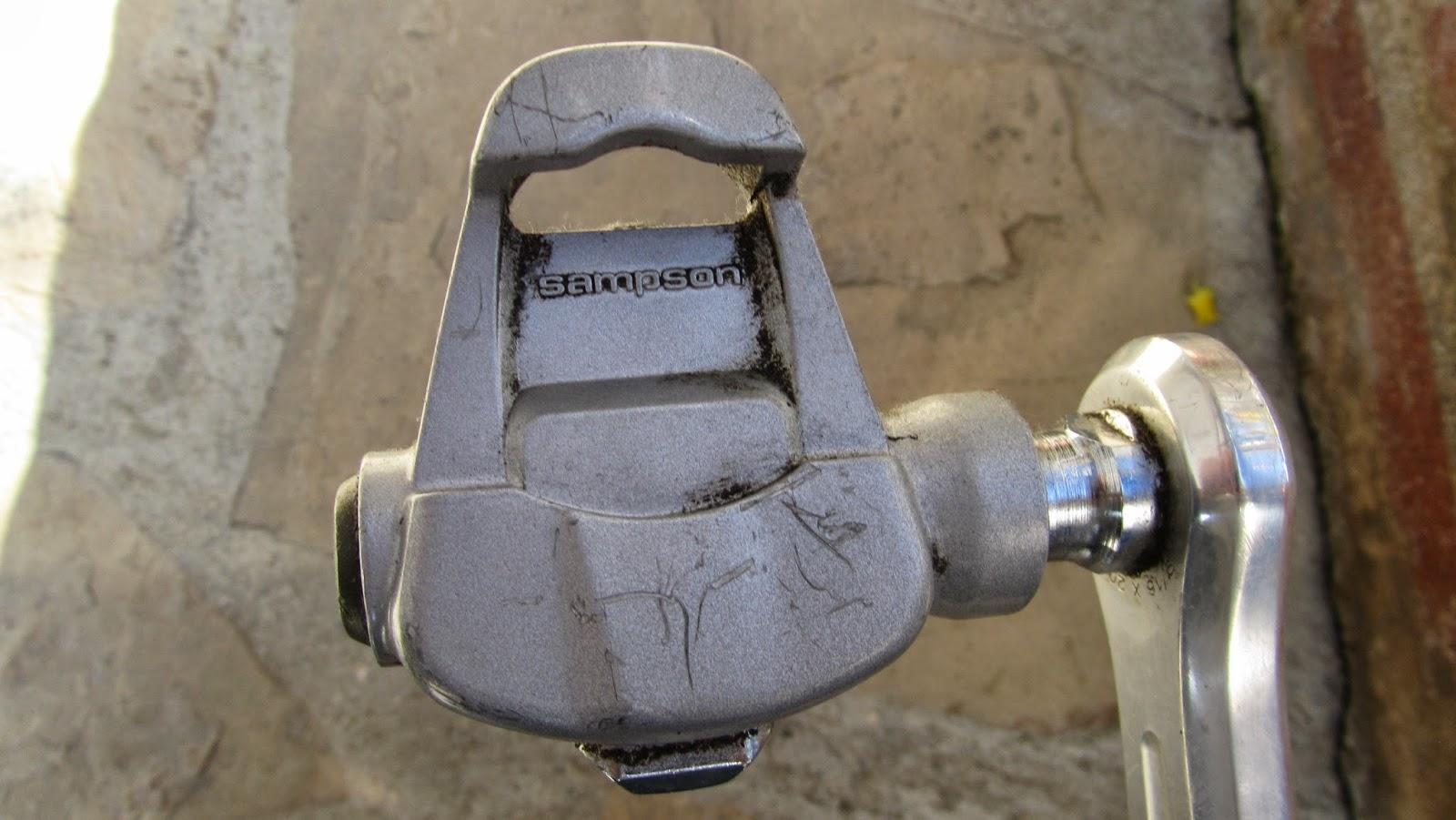 bicicleta orbea contrarreloj - pedal sampson