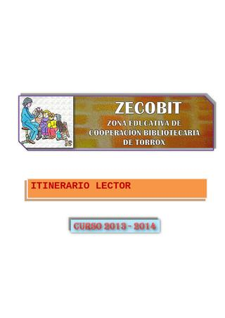 Itinerario Lector ZECOBIT