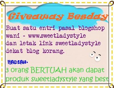 Giveaway Besday Ke - 24
