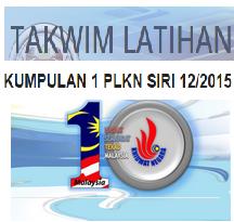 Jadual Dan Takwim Latihan PLKN 2015