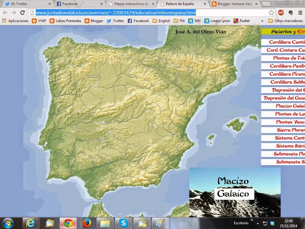 Relieve de España
