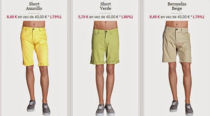 Ejemplos de pantalones Shorts de esta oferta