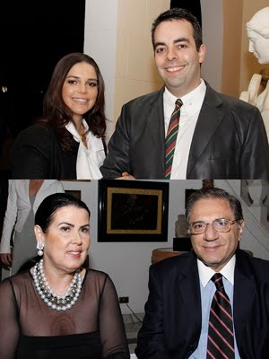 Sheila Sansone e Eduardo Sansone Neto / Meire  Jorge e Geraldo Cury