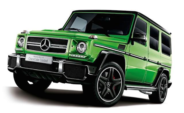「メルセデスAMG G63」のクレージーカラーリミテッドを発売!