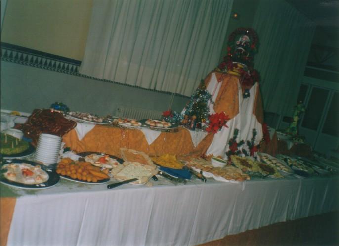 Bufet de Navidad 2001