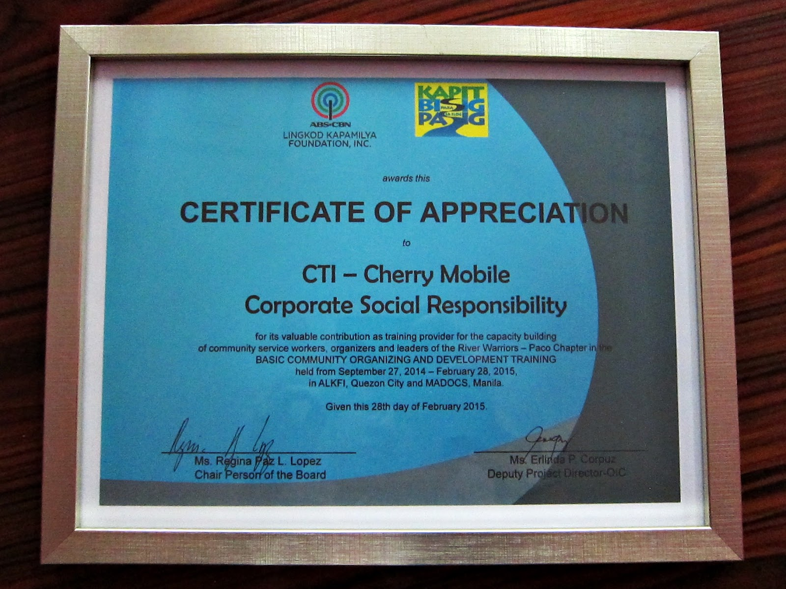 Cherry mobile blogs cherry mobile csr received recognition and for its indigent patients to acquire medical assistance such as medicines laboratory fees and other medical related expenses cherry mobile csr also xflitez Image collections