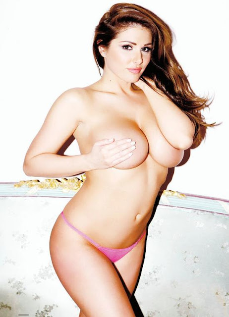 Lucy Pinder – Nuts Magazine Topless Photoshoot (April 2013) (NSFW) indianudesi.com
