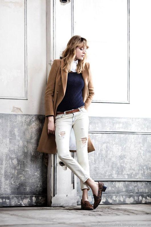 Paula Cahen D'Anvers otoño invierno 2014.Tapados 2014. Moda invierno 2014.