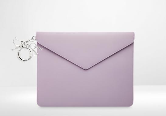 Bolso Sobre color lila Cristian Dior