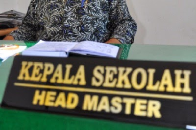 Kepala Sekolah; Manager and Leader.
