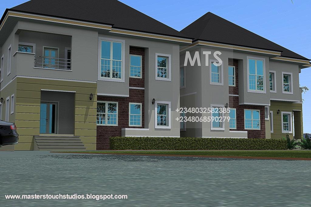 4 bedroom twin duplex for 4 bedroom duplex designs
