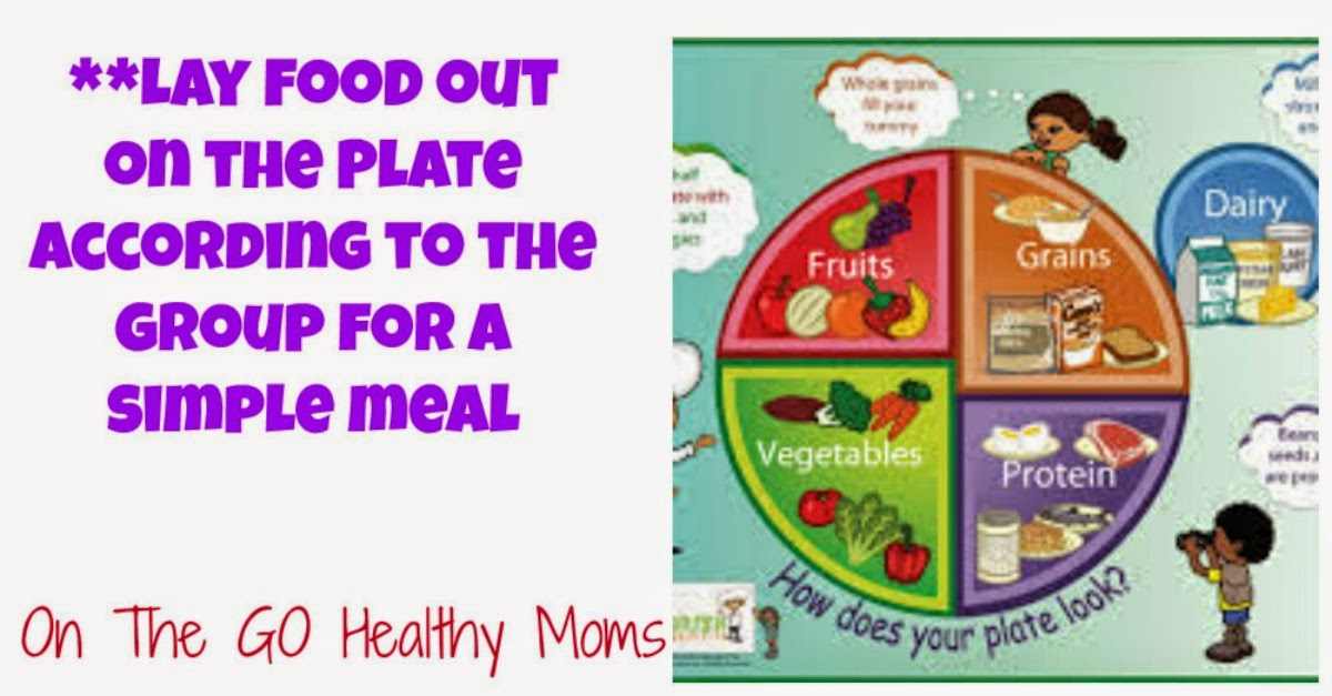 simple, food groups, kids