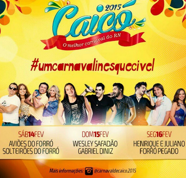 CAICÓ 2015-CARNAVALINESQUECIVEL