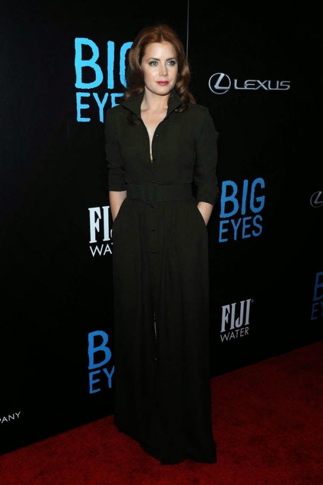 Amy Adams wears Max Mara to the 'Big Eyes' premiere in New York