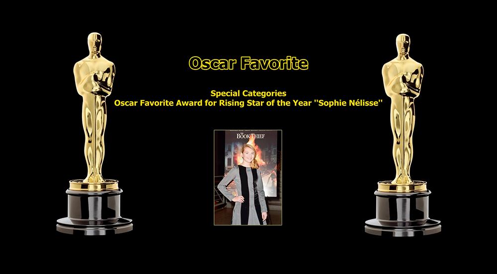 oscar favorite rising star award sophie nelisse
