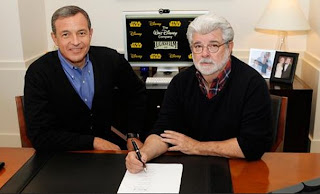 George Lucas y Disney - cine series y tv