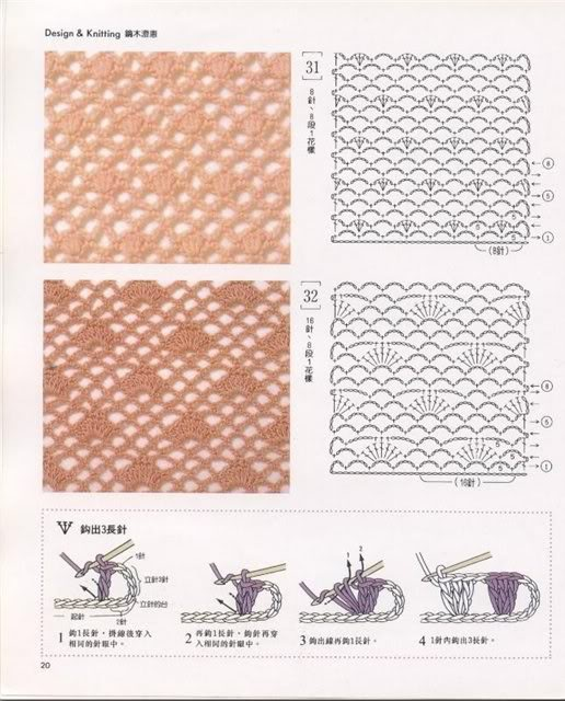 Видео вязания крючком рисунки