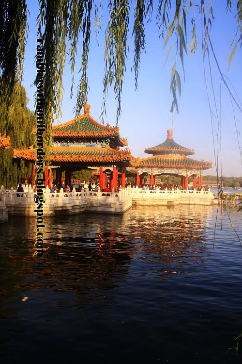 Five-Dragon Pavilions, Beihai Park, Beijing, China