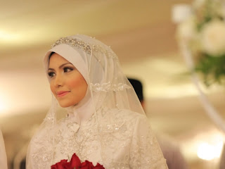 Hijab Pengantin Muslimah Syari