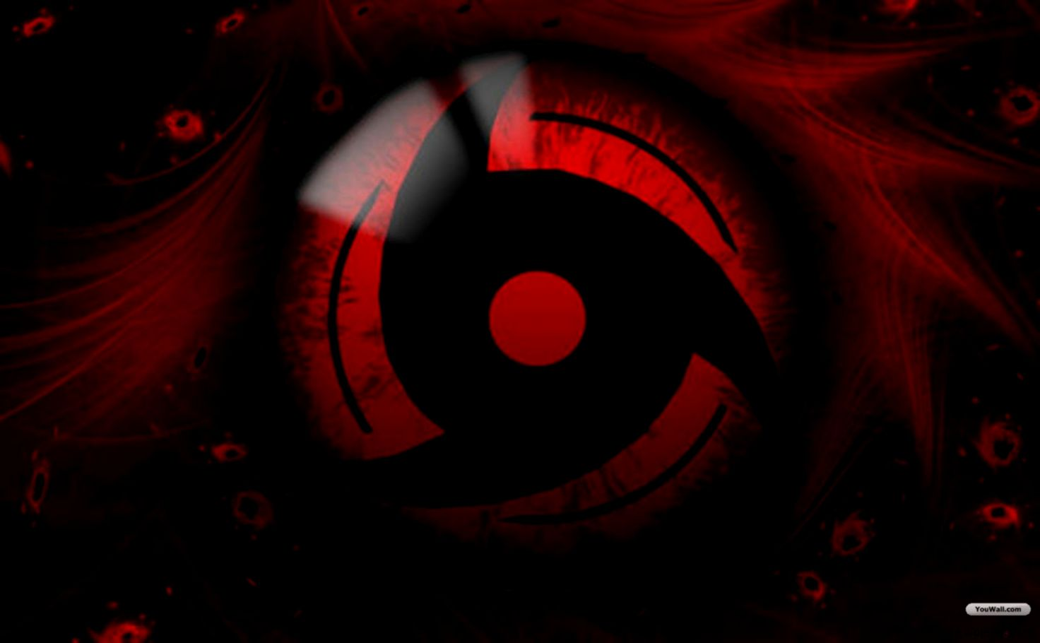 Naruto Shippuden Wallpaper Complete Sharingan Eye Wallpaper