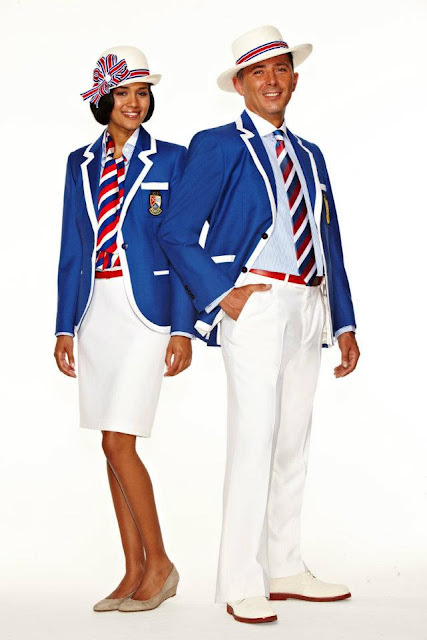 Belize uniform for london olympic by Stella McCartney